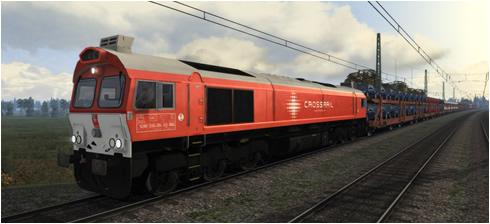 Baureihe 266 Crossrail - Vorschaubild