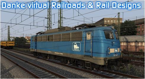 Danke vR und Rail Designs