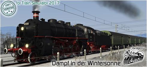 Dampf in der Wintersonne - Vorschaubild