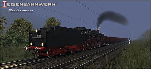 Baureihe 18 - Tender voraus - Vorschaubild