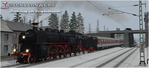 Baureihe 18 - Sonderzug zur Burgweihnacht - Vorschaubild