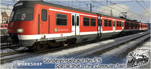 Sondereinsatz auf der S 5 [WS] - Vorschaubild
