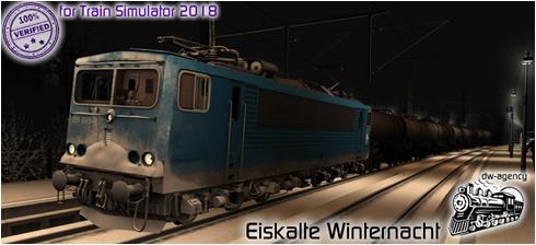 Eiskalte Winternacht - Vorschaubild