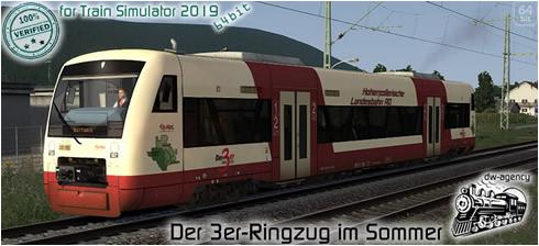 Der 3er-Ringzug im Sommer - Vorschaubild