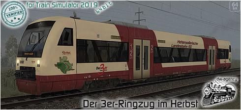 Der 3er-Ringzug im Herbst - Vorschaubild