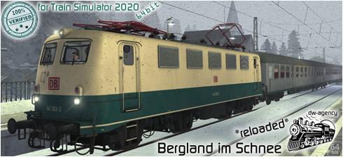 Bergland im Schnee *reloaded* - Vorschaubild