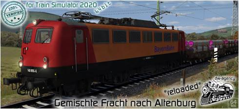 Gemischte Fracht nach Altenburg - Vorschaubild