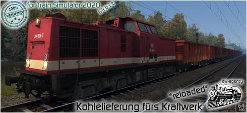 Kohlelieferung fürs Kraftwerk *reloaded* - Vorschaubild