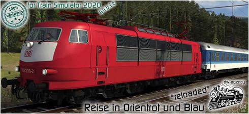 Reise in Orientrot und Blau *reloaded* - Vorschaubild