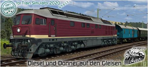 Diesel und Donner auf den Gleisen - Vorschaubild