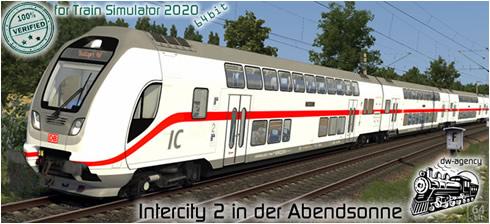Intercity 2 in der Abendsonne - Vorschaubild