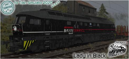 Lady in Black - Vorschaubild