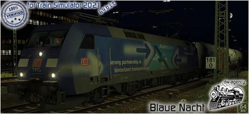 Blaue Nacht - Vorschaubild
