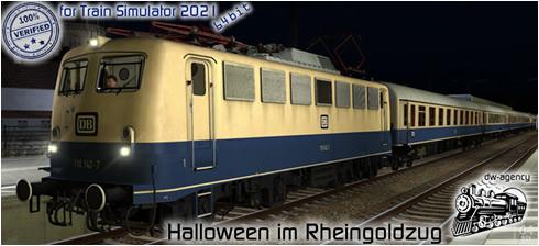 Halloween im Rheingoldzug - Vorschaubild