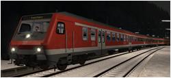 Interregio-Express im Winterwald