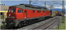 Schwerer Gütertransport