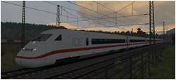 Morgendlicher ICE 2