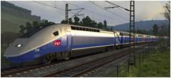 Morgendlicher TGV