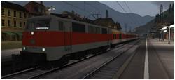 S-Bahn-Zug im Sondereinsatz